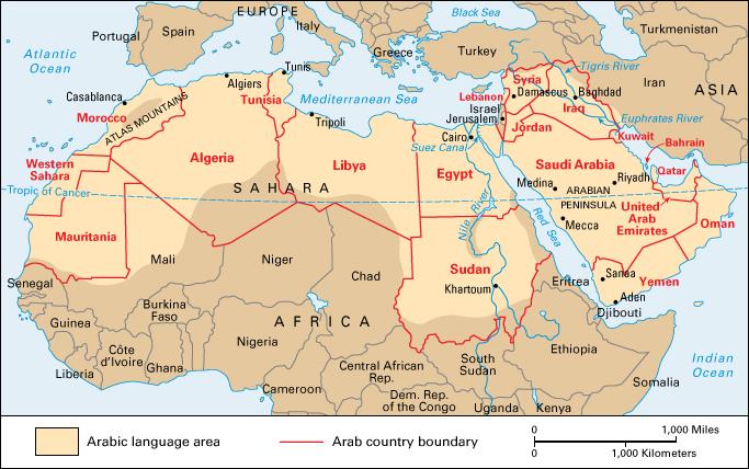 Language Monday Arabic World Book