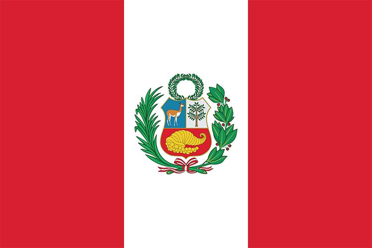 Peru flag. Credit: © Gil C, Shutterstock